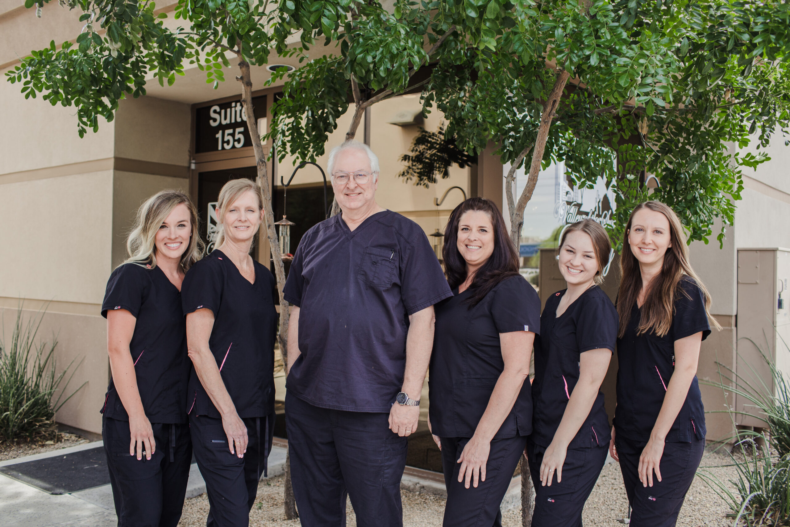 Caring staff and dentist