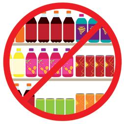 No sugary drinks